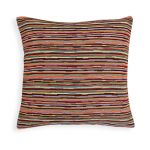 Cushion Cover with Colorful Stripes A