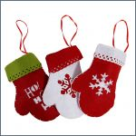 Christmas decoration (gloves)